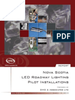 DMD NS LED Roadway Lighting Pilot Installations