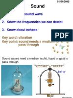 Igcse Sound