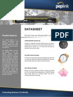 Peplink Balance Enterprise DataSheet