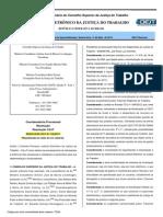 Anexo I - Resolução 136 de 2014 Do CSJT