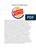 Marketing Burger King