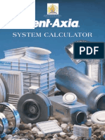 VENT AXIA System Calculator