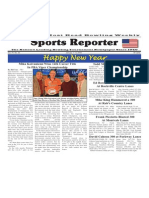 January 1 - 6, 2015  Sports Reporter