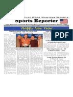 January 1 - 6, 2015  Sports Reporter