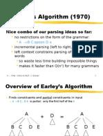 Earley's Algorithm (1970)