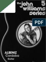 John Williams - Cordoba Albeniz - Guitar Score(1)