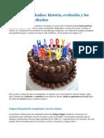Torta de cumpleaños - Historia, evolución y los más modernos diseños