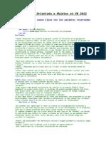 Programación Orientada a Objetos en VB 2012