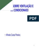 Notas Sobre Ventilacao e Arcondicionado1301163906