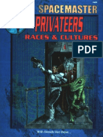 (Spacemaster)Privateers - Races and Cultures