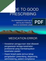Guide to Good Prescribing
