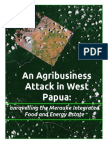 An Agribusiness Attack in West Papua