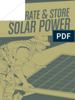 How to Generate and Store Solar Power