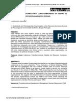 Liderança Transformacional Como Componente Da Gestão de Recursos Humanos Em Organizações Sociais