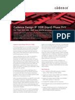 Designip Ddr Hard Phase Phy Tsmc Tb