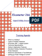 Training Presentation - Elcometer 266