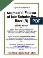 En 01 Majmoo AlFatawa IbnBaz