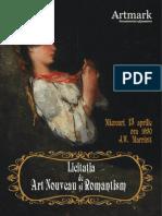 Catalog Licitatia de Art Nouveau Si Romantism