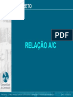 Concreto Fator Agua Cimento - ABCP