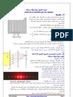 diffraction de la lumiere par un reseau cours T PC SM