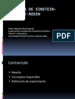 Paradoja de Einstein Podolsky Rosen