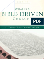 A Bible Driven Church