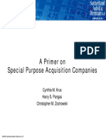 A Primer on Special Purpose Acquisition Companies (SPACs)