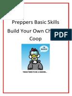 Preppers Basic Skills Chicken Coop