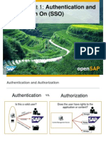 OpenSAP BIFOUR1 Week 3 Troubleshooting Performanc Testing Authentication