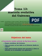 Astrofisica Extragalactica y Cosmologia Tema13 History