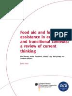 Food Aid and Food