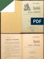 Ch Drysdale. Dignidad Libertad e Independencia - FILOSOFÍA