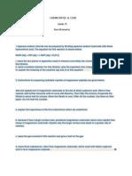 IGCSE chemistry exam paper