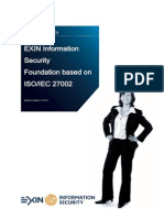 ISO27002 English Sample Exam