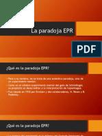 La Paradoja EPR