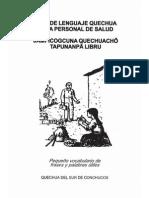 Guia de Quechua Para Personal de Salud