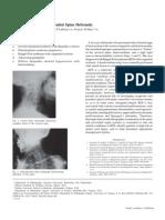 Bone Block and congenital spinal deformity
