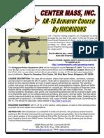 Armorer School 2015 - Bridgeport WV