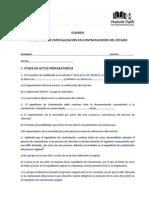 Examen Diplomado de Contrataciones Del Estado1