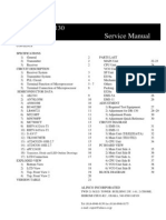 KENWOOD TS 830 Service Manual