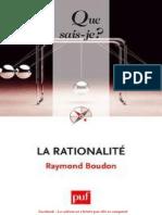 La Rationalite - Raymond Boudon