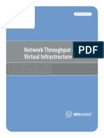 Network Throughput in a Virtual Environment