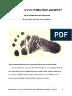 Barack Obama's Identification Footprint