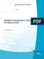 REVIEW OF ECONOMIC THEORIES OF REGULATION = 2010 UTRECHT