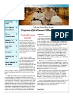 Calvary Chapel Newsletter January-February 2015