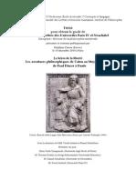 Carron - Les Aventures Philosophiques de Caton Au Moyen Âge Latin Tsis Docthoral Sorbona Buena