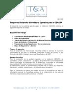 Auditoria Operativa CENARA