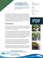 Bartlett's-Melbourne Zoo Lake Desludging Case Study
