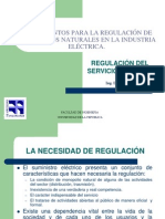 Regulación de Monopolios 2013