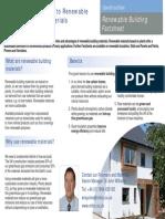 Renewable Building Materials